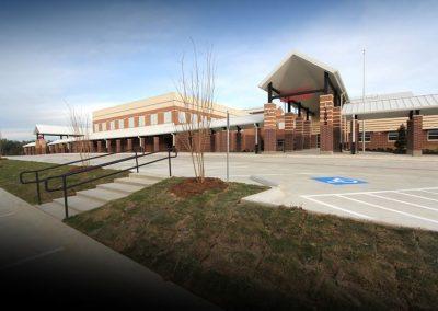 HG Temple Elementary Entrance